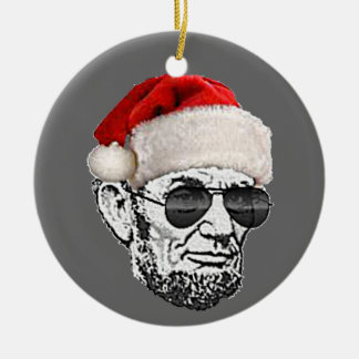 Lincoln Secret Santa Christmas Tree Ornament (NEW)