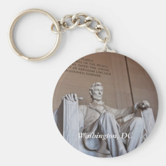 Lincoln Statue Keychain