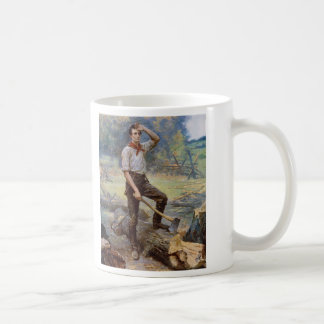 Lincoln the Rail Splitter by Jean L. Gerome Ferris Coffee Mug