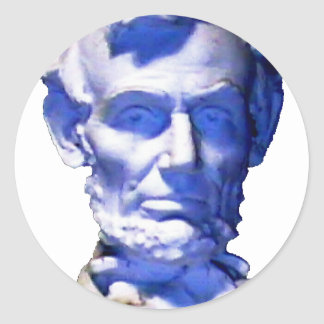 Lincoln transp The MUSEUM Zazzle Round Stickers