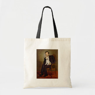 Lincoln - Wire Fox Terrier #1 Tote Bag