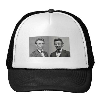 Lincoln With and Without a Beard Hat