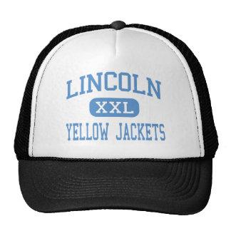 Lincoln - Yellow Jackets - High - McClellanville Mesh Hats