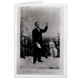 Lincoln's Address at Gettysburg, 1895 Card