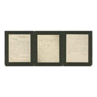 Lincoln's Famous Letter to Greeley Photo Print