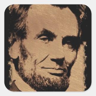 Lincoln's Mug Sticker