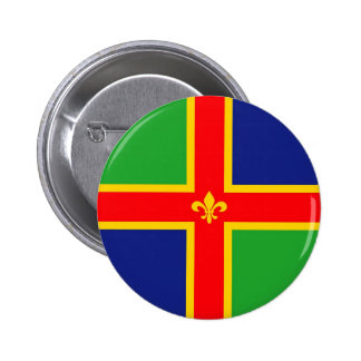 Lincolnshire flag united kingdom great britain   e 6 cm round badge