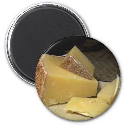 Lincolnshire Poacher Cheese 6 Cm Round Magnet