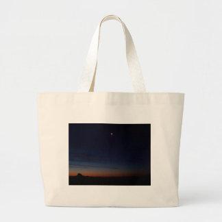 Lincolnshire Skyline 5 Large Tote Bag
