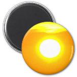 Lincolnshire Sunrise 4 6 Cm Round Magnet