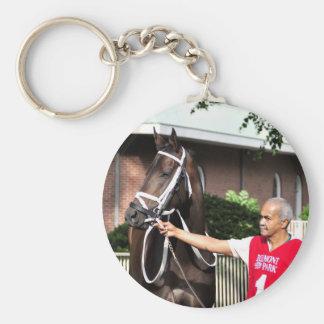 Linda Mimi by Congrats Basic Round Button Key Ring