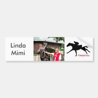 Linda Mimi by Congrats Bumper Sticker