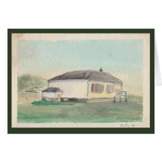 Lindale School, 1986 Card