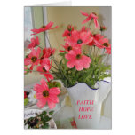 Linda's Bouquet, Inspirational Note Card