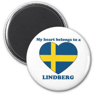 Lindberg 6 Cm Round Magnet