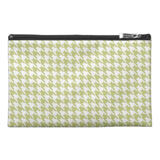Linden Green Houndstooth Travel Accessories Bags
