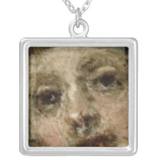 L'Indifferent, 1716 Silver Plated Necklace