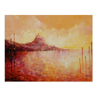 Lindisfarne Castle England Post Card