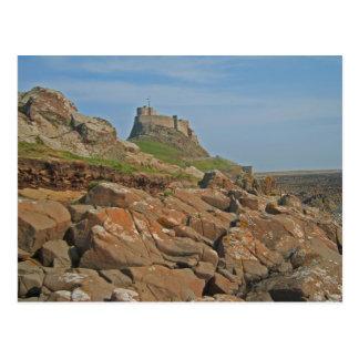 Lindisfarne Castle Holy Island England Postcard
