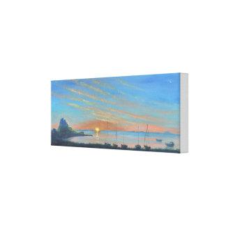 Lindisfarne Castle Sunrise Canvas Print