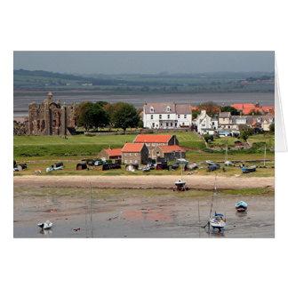 Lindisfarne, Holy Island, England Card