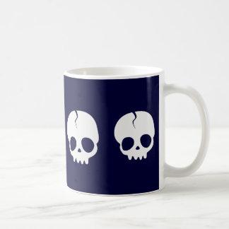 Lindo Cráneo love Basic White Mug