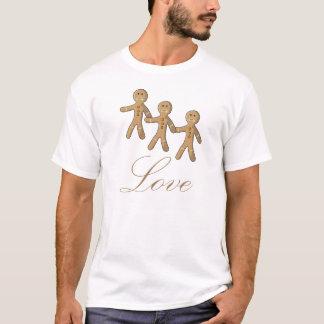 Lindo Muñeco de jengibre T-Shirt