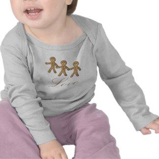 Lindo Muñeco de jengibre T Shirt