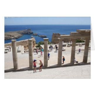 Lindos Acropolis Card