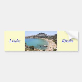Lindos Bumper Sticker