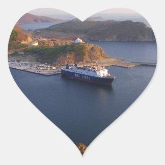 Lindos Ferry Sticker
