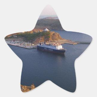 Lindos Ferry. Star Sticker