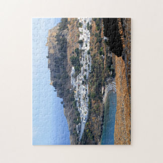 Lindos Fortress, Rhodes Greece 8x10 Puzzle