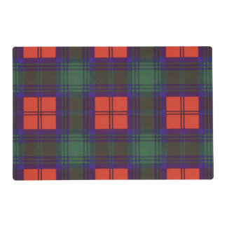 Lindsay clan Plaid Scottish tartan Laminated Placemat