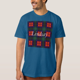 Lindsay clan Plaid Scottish tartan T-Shirt