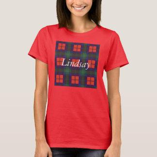 Lindsay clan Plaid Scottish tartan T-Shirt