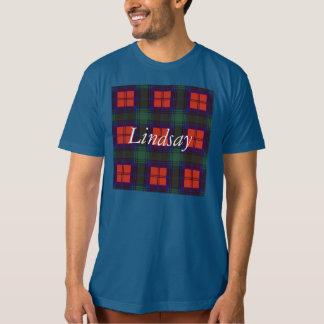 Lindsay clan Plaid Scottish tartan T-shirts