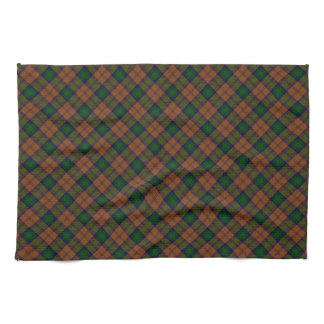 Lindsay Clan Tartan Designed Print Tea Towel