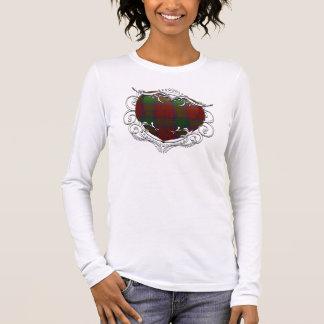 Lindsay Tartan Heart Long Sleeve T-Shirt