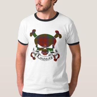 Lindsay Tartan Skull Tee Shirt