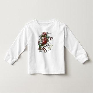 Lindsay Tartan Unicorn Toddler T-Shirt