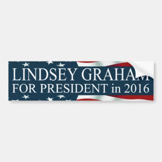 Lindsey Graham for President in 2016 Bumper Sticker