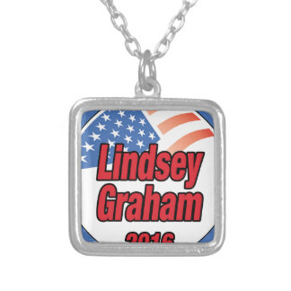 Lindsey Graham for president in 2016 Square Pendant Necklace