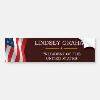 Lindsey Graham for President V3 Bumper Sticker