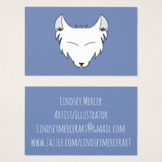 Lindsey Mercer Logo Business Card