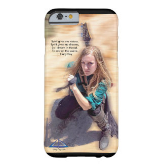 "Lindy Day ""Spirit gives me visions"" iPhone 6 case"