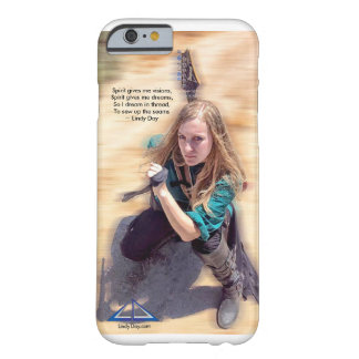 "Lindy Day ""Spirit gives me visions.."" iPhone case"