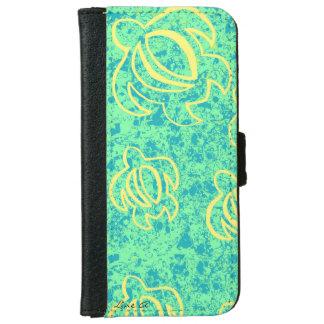 Line A SeaFoam Honu iPhone 6 Wallet Case
