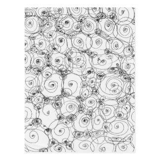 Line Art Pencil Sketch Design Draw Paper Fineart Postcard