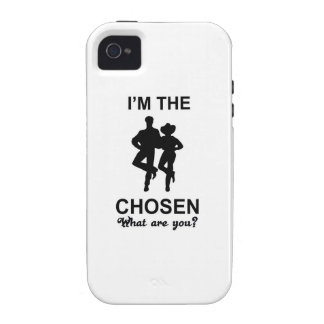 line dance Case-Mate iPhone 4 covers